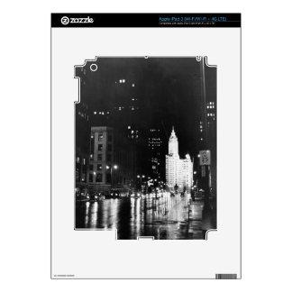 circa 1954:  A view down Michigan Avenue iPad 3 Skin