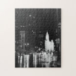 circa 1954:  De la visión una avenida de Michigan  Puzzle Con Fotos