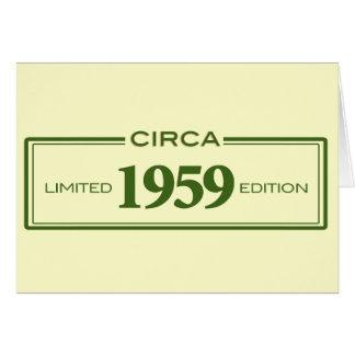 circa 1959 card