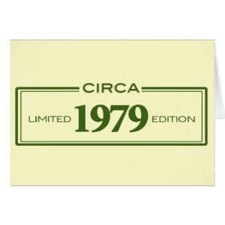 circa 1979 card