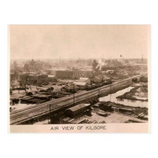 Circa la opinión del aire 1931 de Kilgore, Tejas Tarjeta Postal