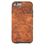 Circassian Walnut Burl iPhone 6 case *monogram*