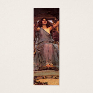 Circe Bookmark by John William Waterhouse Mini Business Card
