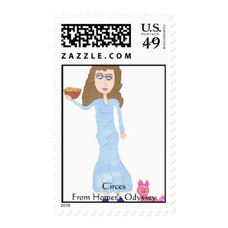 Circe, CircesFrom Homer's Odyssey Postage Stamp