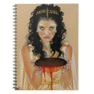 Circe Greek Goddess Notebook