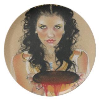 Circe Greek Goddess Plate