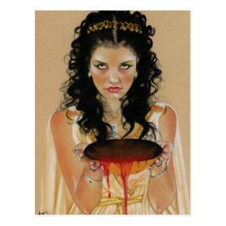 Circe Greek Goddess Postcard