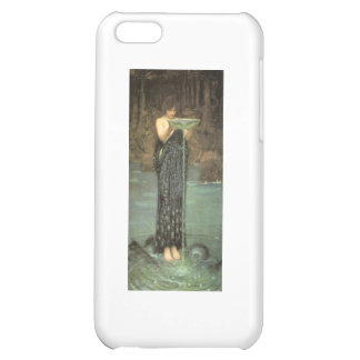 Circe in her element case for iPhone 5C