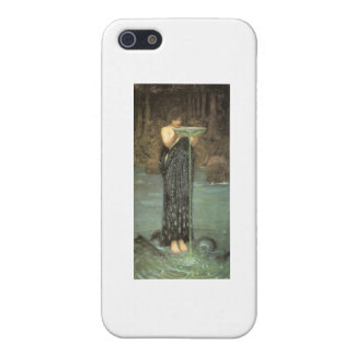 Circe in her element covers for iPhone 5