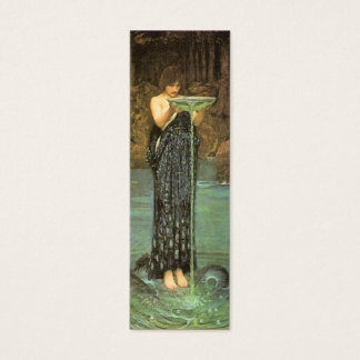 Circe Invidiosa Bookmark by John W. Waterhouse Mini Business Card