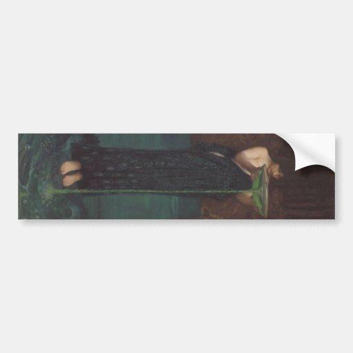Circe Invidiosa by John William Waterhouse Bumper Sticker
