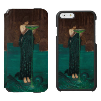 Circe Invidiosa by John William Waterhouse iPhone 6/6s Wallet Case