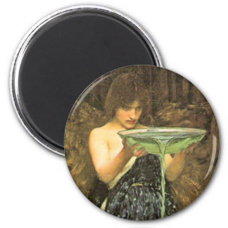 Circe Invidiosa by John William Waterhouse Refrigerator Magnets