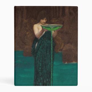Circe Invidiosa by John William Waterhouse Mini Binder