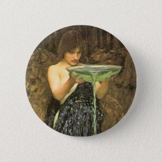 Circe Invidiosa by John William Waterhouse Pinback Button