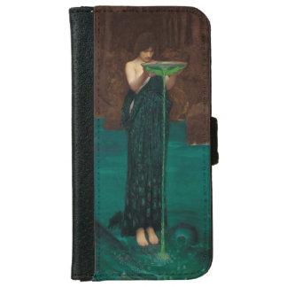 Circe Invidiosa by John William Waterhouse iPhone 6 Wallet Case