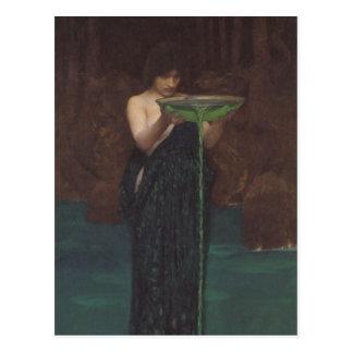 Circe Invidiosa by John William Waterhouse Postcard