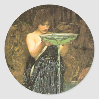 Circe Invidiosa by John William Waterhouse Stickers