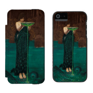 Circe Invidiosa by John William Waterhouse Wallet Case For iPhone SE/5/5s