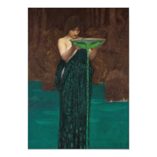 Circe Invidiosa by Waterhouse Card