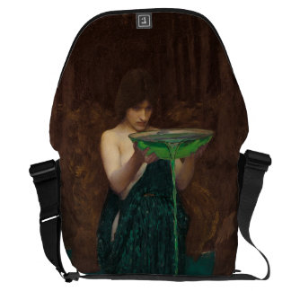 Circe Invidiosa by Waterhouse Courier Bag