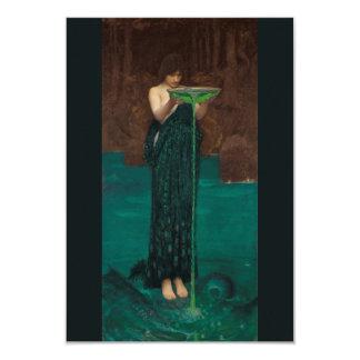Circe Invidiosa by Waterhouse Fine Art Card