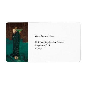 Circe Invidiosa by Waterhouse Label