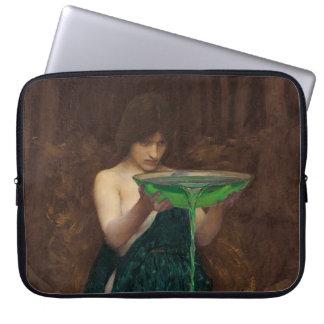 Circe Invidiosa by Waterhouse Laptop Computer Sleeve