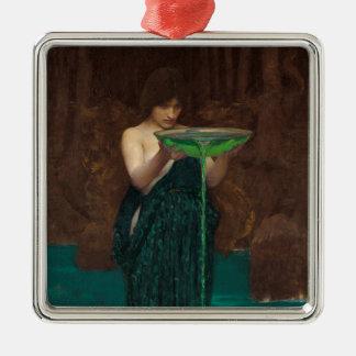 Circe Invidiosa by Waterhouse Christmas Ornament