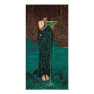 Circe Invidiosa by Waterhouse Photo Cards