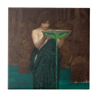 Circe Invidiosa by Waterhouse Tile