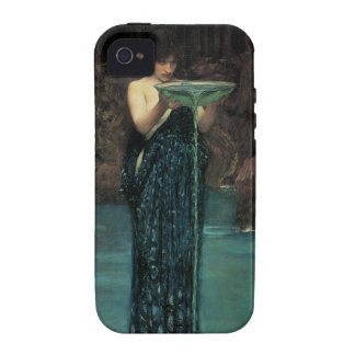 Circe Invidiosa by Waterhouse, Vintage Victorian iPhone 4 Cases