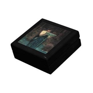 Circe Invidiosa by Waterhouse, Vintage Victorian Jewelry Boxes