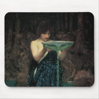 Circe Invidiosa by Waterhouse, Vintage Victorian Mousepad