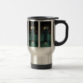 Circe Invidiosa by Waterhouse, Vintage Victorian Coffee Mug