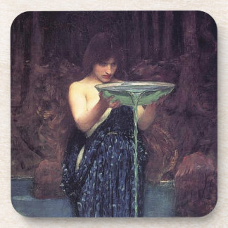 Circe Invidiosa - Circe with a Ponseive Bowl Coaster