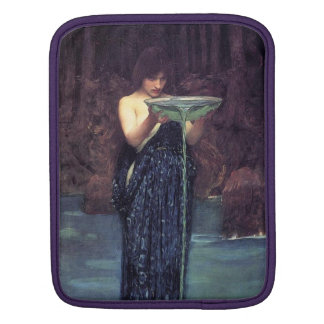 Circe Invidiosa - Circe with a Ponseive Bowl iPad Sleeve