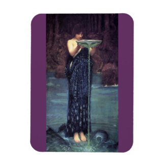 Circe Invidiosa - Circe with a Ponseive Bowl Magnet