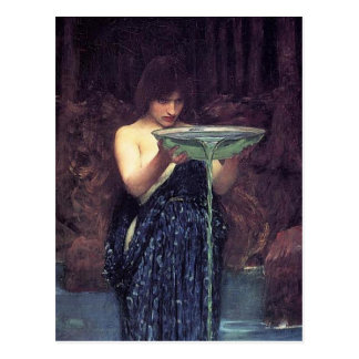Circe Invidiosa - Circe with a Ponseive Bowl Postcard