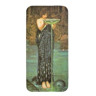 Circe Invidiosa de John William Waterhouse Bolsillo Para iPhone