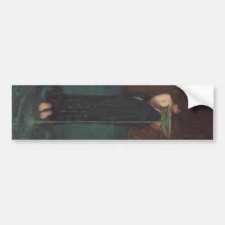 Circe Invidiosa de John William Waterhouse Etiqueta De Parachoque