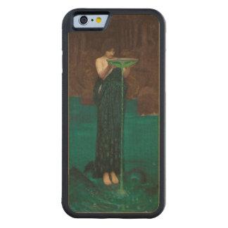Circe Invidiosa de John William Waterhouse Funda De iPhone 6 Bumper Arce