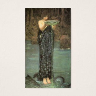 Circe Invidiosa - John William Waterhouse Business Card