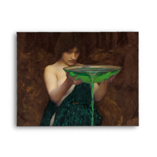 Circe Invidiosa John William Waterhouse Envelope