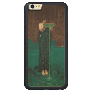 Circe Invidiosa John William Waterhouse Fine Art Carved Maple iPhone 6 Plus Bumper Case