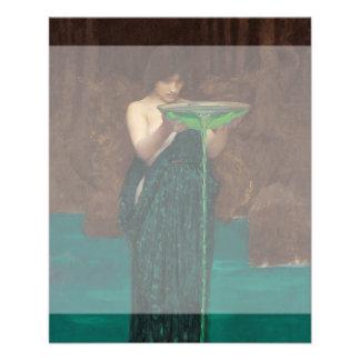 Circe Invidiosa John William Waterhouse Flyer
