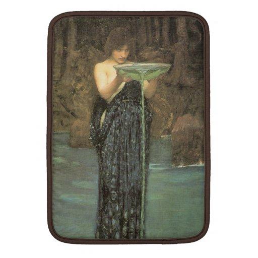 Circe Invidiosa - John William Waterhouse Fundas MacBook