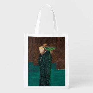 Circe Invidiosa John William Waterhouse Grocery Bag