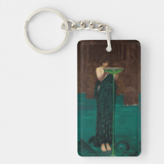 Circe Invidiosa John William Waterhouse Keychain