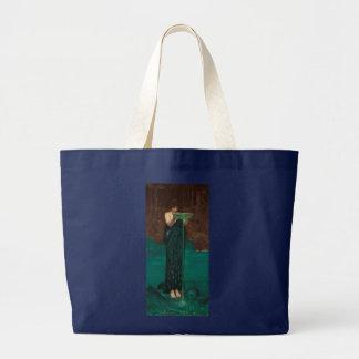 Circe Invidiosa John William Waterhouse Large Tote Bag
